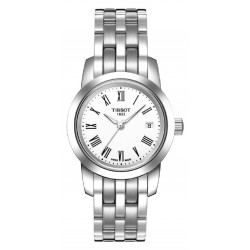 TISSOT CLASSIC DREAM LADY WHITE WATCH  - T0332101101300