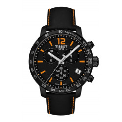 TISSOT QUICKSTER CHRONOGRAPH ORANGE WATCH  - T0954173605700