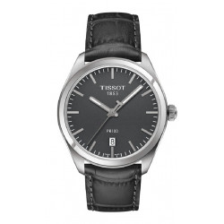 TISSOT PR 100 QUARTZ GENT GREY WATCH  - T1014101644100