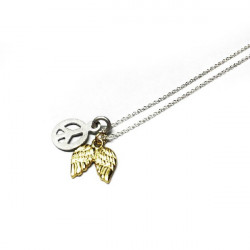 PEACE AND WINGS DI PIÙ NECKLACE - DPC64332