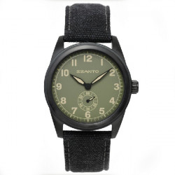 SZANTO WATCH 1000 SERIES BLACK/GREEN - SZ1005