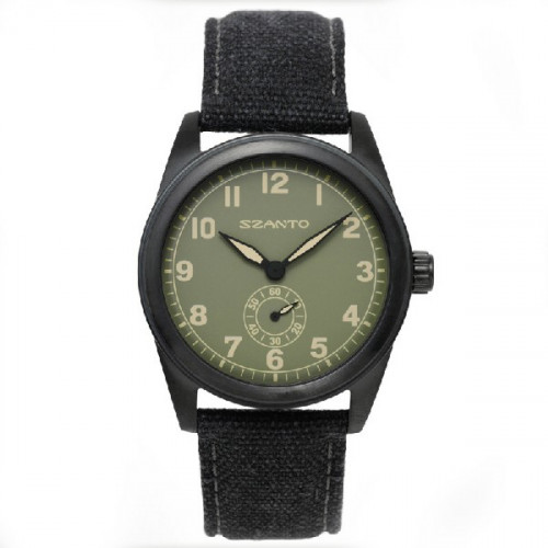 RELOJ SZANTO 1000 SERIES BLACK/GREEN - SZ1005