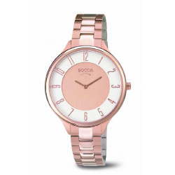 ROSE GOLD BOCCIA WATCH - R3240-06