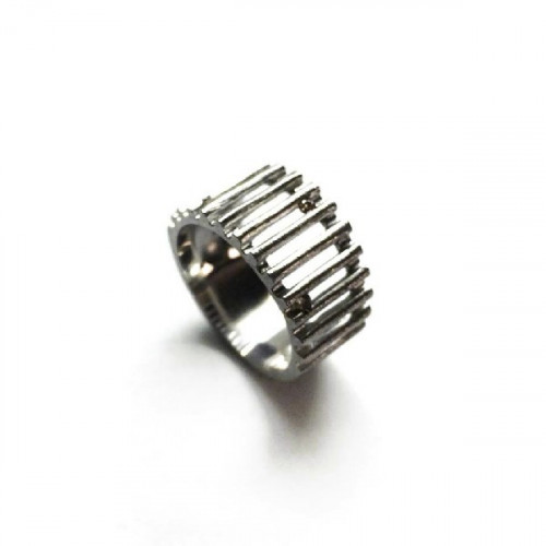 ANILLO CLIMENT 1890 LINEAS - S-6515/BM