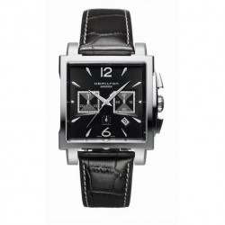 HAMILTON JAZZMASTER SQUARE AUTO CHRONO WATCH  - H32666535