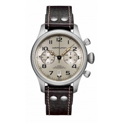 HAMILTON KHAKI CONSERVATION AUTO CHRONO WATCH  - H60416553