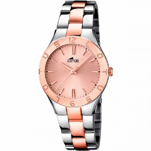 BICOLOR TRENDY LOTUS WATCH - 15896/2