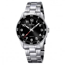 BLACK JUNIOR FESTINA WATCH - F16905/4