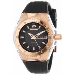 TECHNOMARINE CRUISE ORIGINAL GOLD BLACK WATCH - 110037-GLOSSY