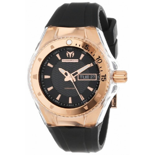 RELOJ TECHNOMARINE CRUISE ORIGINAL GOLD BLACK - 110037-GLOSSY