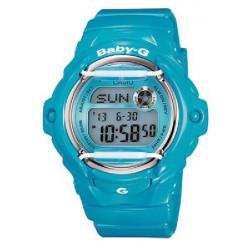TURQUOISE CASIO BABY G WATCH  - BG-169R-2BER