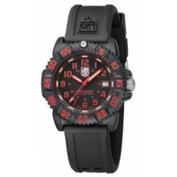 NAVY SEAL COLORMARK 38MM RED LUMINOX WATCH - LX7066
