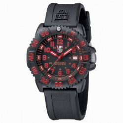 NAVY SEAL COLORMARK RED LUMINOX WATCH - LX3065