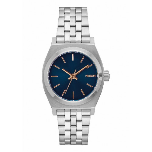 MEDIUM TIME TELLER NAVY/ROSE GOLD NIXON WATCH - A11302195
