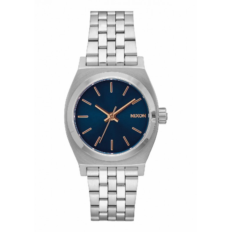 Reloj Nixon Medium Time Teller Navy   Rose Gold f405d42d6b75