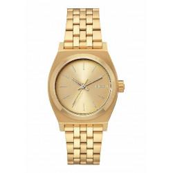 RELOJ NIXON MEDIUM TIME TELLER ALL GOLD - A1130502