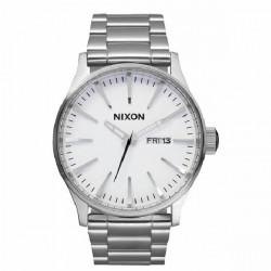 NIXON WHITE SENTRY SS WATCH - A356100 - A356100