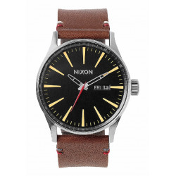 SENTRY LEATHER 42MM NIXON WATCH - A105019
