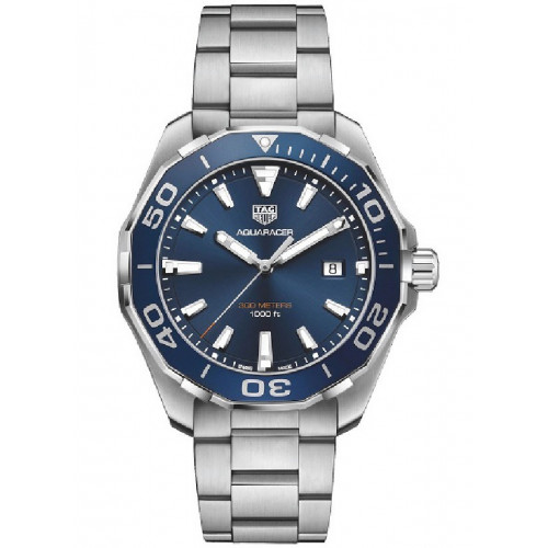 RELOJ TAG HEUER AQUARACER QUARTZ 43MM - WAY101C.BA0746