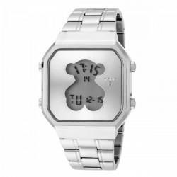 STEEL D-BEAR TOUS WATCH - 600350275