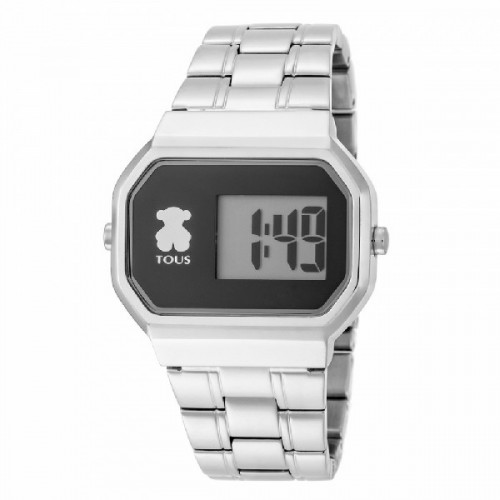 RELOJ TOUS D-BEAR DIGITAL ACERO - 600350295