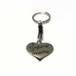 MAMA TOP SILVER KEYCHAIN - LC9054L