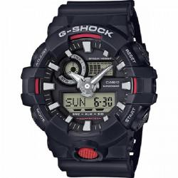 BLACK G-SHOCK CASIO WATCH - GA-700-1AER