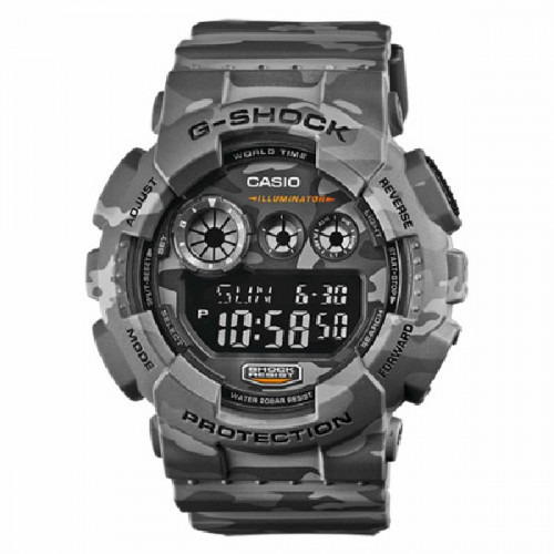 5ffd8745ddd7 RELOJ CASIO G-SHOCK MILITAR GRIS - GD-120CM-8ER