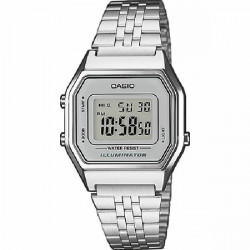 RELOJ CASIO RETRO DIGITAL MEDIANO - LA680WEA-7EF