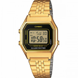 RELOJ CASIO RETRO GOLD DIGITAL MEDIANO - LA680WEGA-1ER