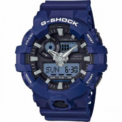 BLUE G-SHOCK CASIO WATCH - GA-700-2AER