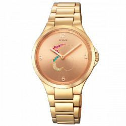 IP ROSE GOLD STEEL MOTION TOUS WATCH - 700350210