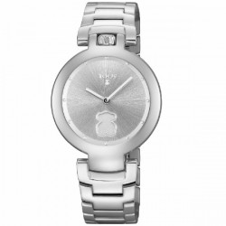 STEEL CROWN TOUS WATCH - 700350275