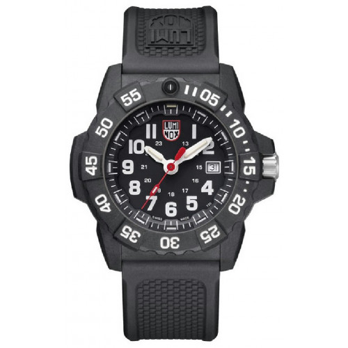 RELOJ LUMINOX NAVY SEAL NEGRO - 3501
