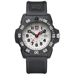 WHITE NAVY SEAL LUMINOX WATCH - LX3507