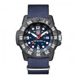 BLUE CARBON SEAL LUMINOX WATCH - LX3803