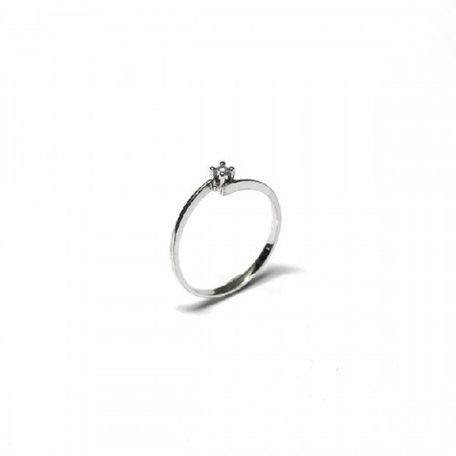 SOLITAIRE CLIMENT 1890 RING - S-240/BR