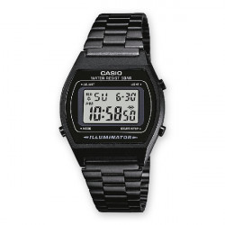 RELOJ CASIO RETRO DIGITAL NEGRO - B640WB-1AEF