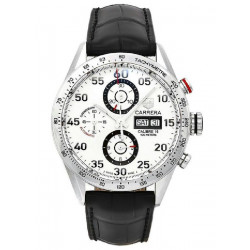 CARRERA CRONO 43MM DAY-DATE ESF BLANC CO - CV2A11.FC6235