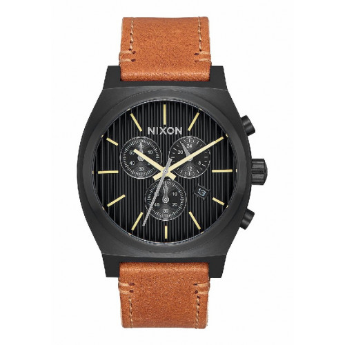 RELLOTGE NIXON CHRONO LEATHER 39MM - A11642664