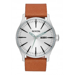 SENTRY LEATHER 42MM NIXON WATCH - A1052853