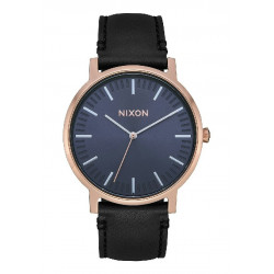 PORTER LEATHER ROSE GOLD / STORM  - A10583005