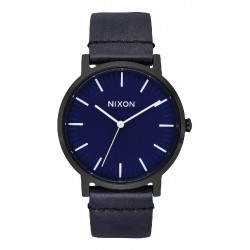 PORTER LEATHER 40MM NIXON WATCH - A10582668