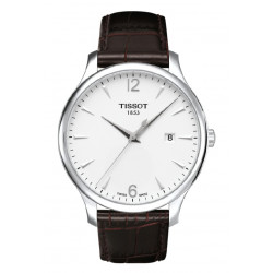 TISSOT TRADITION/BGR/Q/STEEL/BROWN/SILVE - T0636101603700