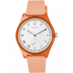 FREE FRESH STEEL AND POLYCARBONATE TOUS WATCH - 900350055