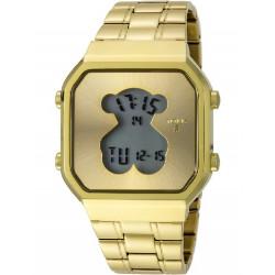 GOLD IP STEEL SQ D-BEAR TOUS WATCH - 600350285
