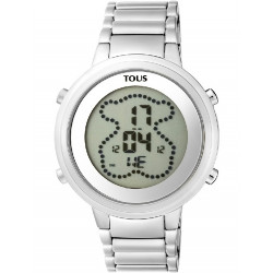 IP ROSE STEEL DIGIBEAR TOUS WATCH - 900350025