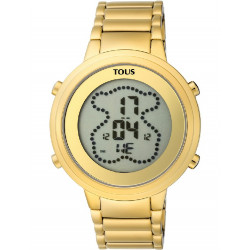 IP GOLD STEEL DIGIBEAR TOUS WATCH - 900350035
