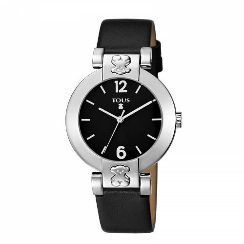 PLATE ROUND STEEL TOUS WATCH - 200350200
