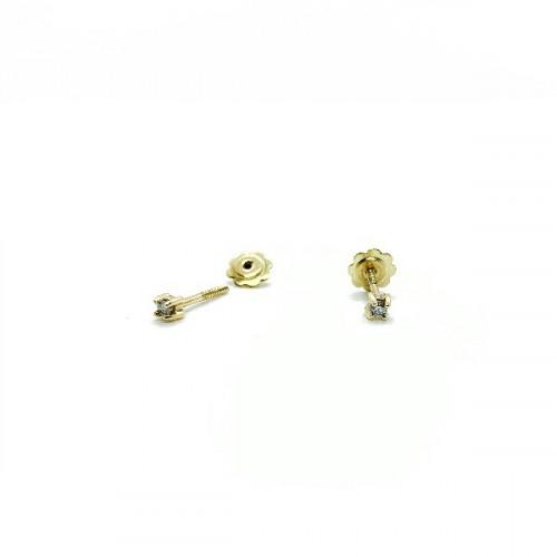 CLIMENT 1890 EARRINGS - D-001R/2/BR
